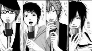 Two Faced Lovers - Four Anime Guys Singing