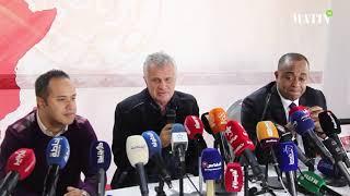 Saïd Naciri et Zoran Manojlovic commentent la séparation à l'amiable
