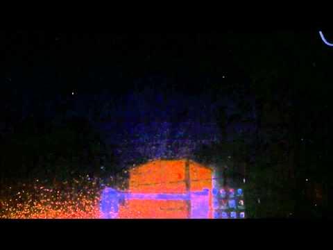 Severe Weather Alert – June 16, 2012 – Lightning Strike Show Time Lapse