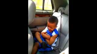 Little Boy jamming to Grind Mode YG ft 2 Chainz