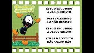 Estou seguindo a Jesus Cristo
