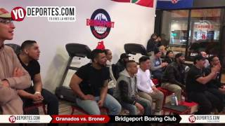 Adrian Granados vs. Adrien Broner Bridgeport Boxing Club viewing party