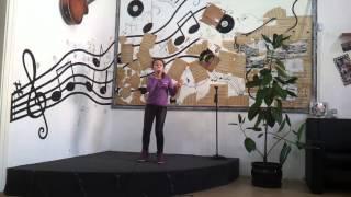 Iulia Teodora - 10 ani - Gnarls Barkley - Crazy (cover) - repetitii - Ianuarie 2015