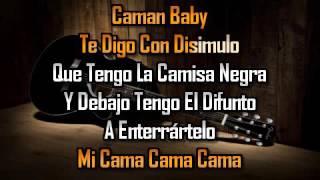 karaoke  La Camisa Negra  Juanes