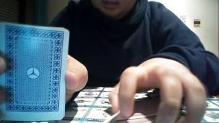 Primeiro video de magica com cartas nome- O melhor truque do mundo (leiam a descrição)