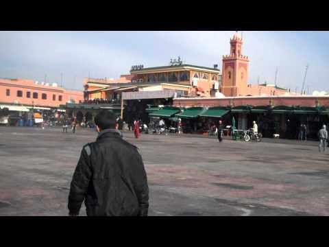 In the Square Morocco