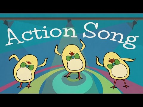 Action Songs for kids | The Singing Walrus - YouTube