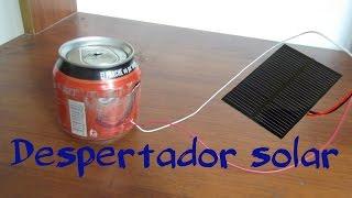 Despertador solar casero /Ideatronic