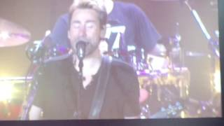 Nickelback - If Today Was Your Last Day live @ Sheffield Arena, October 2016