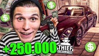 Der 250.000$ LUXUS SPORTWAGEN wird GEKLAUT | Einbrecher SIMULATOR #13