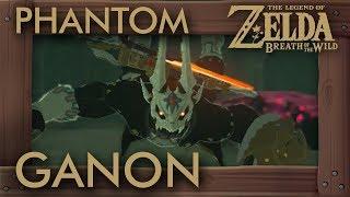 Link vs Phantom Ganon in Zelda Breath of the Wild