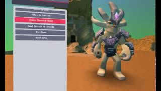 Boundless game characters in early access (March 2017)