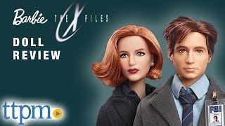 Barbie The X Files Agent Dana Scully and Agent Fox Mulder from Mattel toy