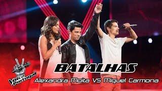 Alexandra Moita VS Miguel Carmona – Like I'm gonna lose you | Batalhas | The Voice Portugal