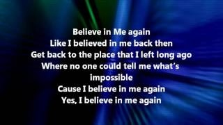 Michelle Williams - Believe in Me (Lyrics)