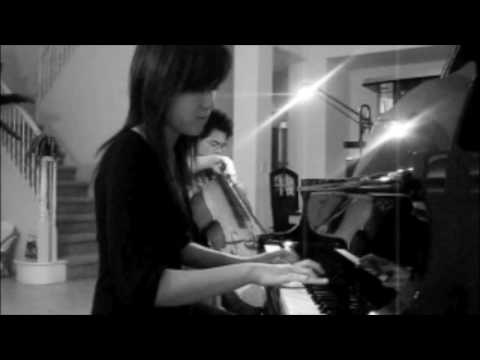 HALO (Beyonce) meets LOVE STORY (Taylor Swift) - Piano Cello Duet