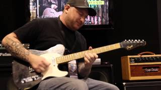 Incredible guitar jam with Josh Smith and Tomo Fujita at NAMM 2014