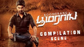 BOOMARANG super scenes Collections | Atharvaa | Megha Akash | Indhuja Ravichandran | Sathish