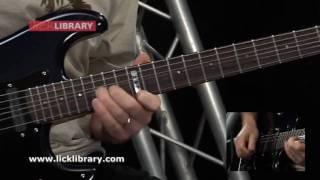 Dr Feelgood - Motley Crue - Guitar Solo Performance With Danny Gill Licklirbrary
