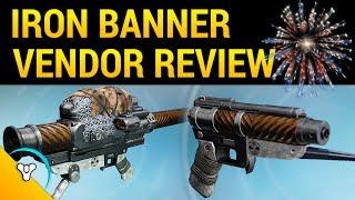 Iron Banner Review: Titanium Orchid & Binding Blaze