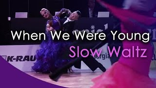 SLOW WALTZ | Dj Ice ft. Jonna - When We Were Young (orig. Adele) (29 BPM)