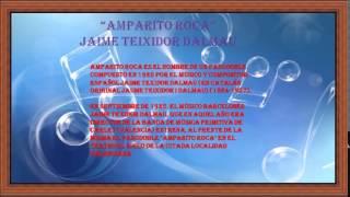 Amparito Roca Jaime Teixidor Dalmau