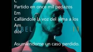 Abel pintos- Oncemil (ACORDES Y LETRA)