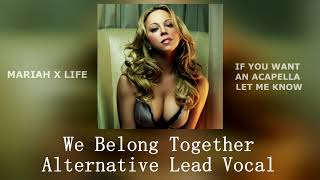 VERY RARE:We Belong Together Alternative Lead Vocal+Piano-Mariah Carey