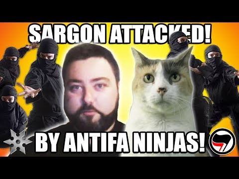 SARGON ATTACKED BY ANTIFA NINJAS!