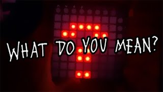 Justin Bieber - What Do You Mean? (Launchpad Cover)