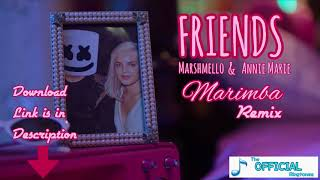 Marshmello & Anne-Marie - FRIENDS (Marimba Remix) iPhone latest Ringtone 2018