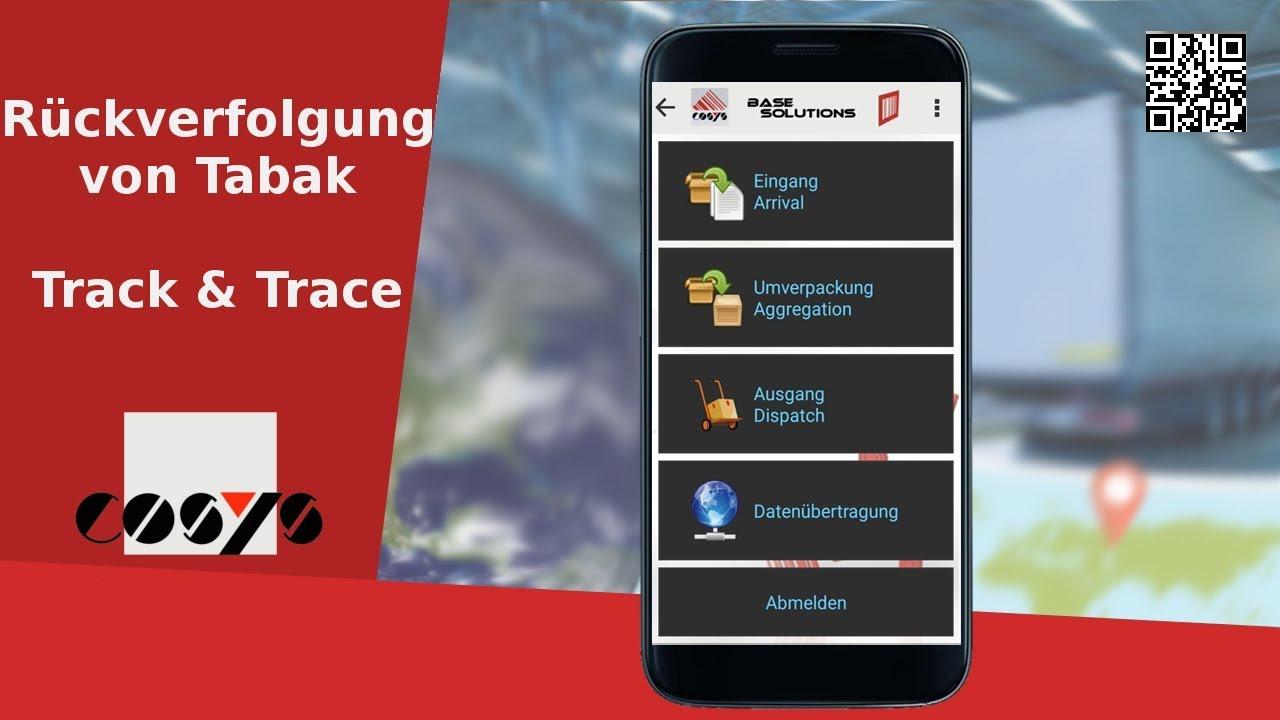 Track & Trace Lösung zur Rückverfolgung von Tabak | COSYS