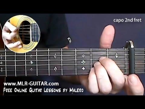 Comment jouer My Sweet Lord de Georges Harrisson à la Guitare