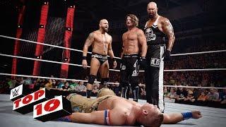 WWE Top 10 mejores momentos de WWE Raw (30-05-2016)