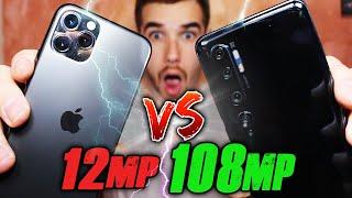 iPhone 11 PRO VS Xiaomi Mi NOTE 10 - QUALE FOTOCAMERA È LA MIGLIORE?!