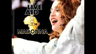 "1985: Madonna's ""Hot & Great"" for Live Aid"