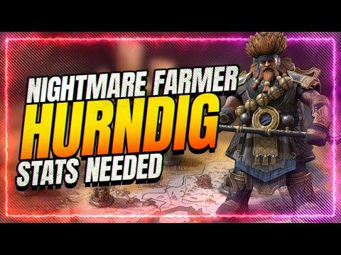 Hurndig is Nightmare BEAST! FULL Build / Stats Needed! | RAID Shadow Legends
