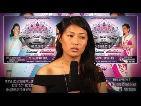 Miss UK Nepal 2012 2nd Audition