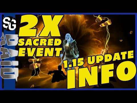 RAID SHADOW LEGENDS | 2X SACRED & 1.15 UPDATE!