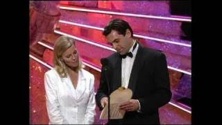 Barbara Hershey Wins Best Actress Mini Series - Golden Globes 1991