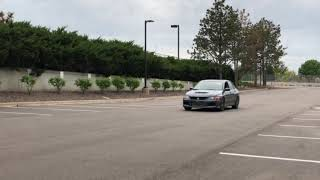 My Evo 9 competition clutch twin disc 2-Step launch