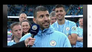 Watch Kun Sergio Agüero - final farewell footage at The Etihad today - Manchester City 23rd May 2021