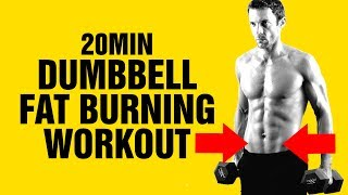 20min Dumbbell Weight Loss Workout - Get Ripped Fast - Sixpackfactory
