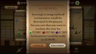 Mythical Recipe Enchantments of Shadow Fight 2