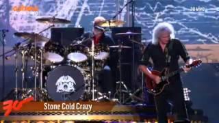 Queen + Adam Lambert - Stone Cold Crazy - Rock In Rio 2015