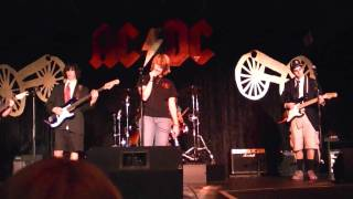 You Shook Me All Night Long, Ft. Washington School of Rock, AC/DC concert 10/1/10