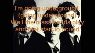 The Jam-Going Underground [LYRICS!]