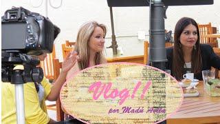 Vlog - Gravação pra TV + Muletas + Comprinhas