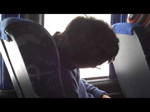 Sleeping in Marshutka