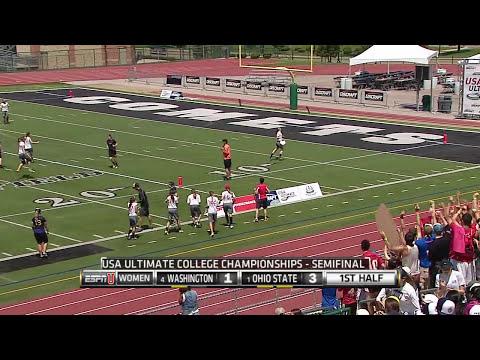 Video Thumbnail: 2014 College Championships, Women's Semifinal: Ohio State vs. Washington